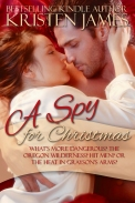 A Spy for Christmas by Kristen James - go to Amazon