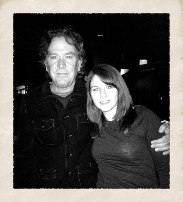 Timothy Hutton and Kristen James